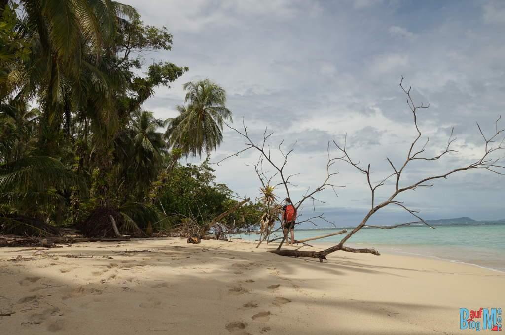 Bocas del Toro zur Regenzeit: Chris auf Zapatilla