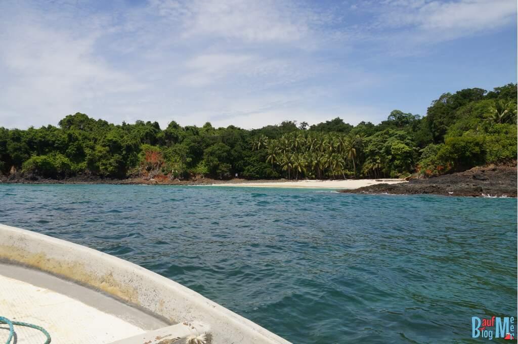 Isla Bolana im Golf von Chiriqui
