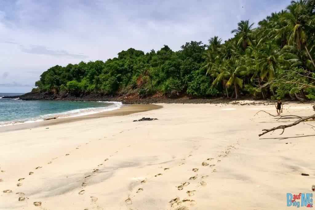 Strand auf der Insel Bolana im golf von Chiriqui