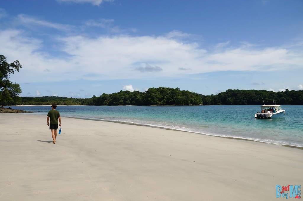 Strand der Isla Gamez im Golf von Chiriqui