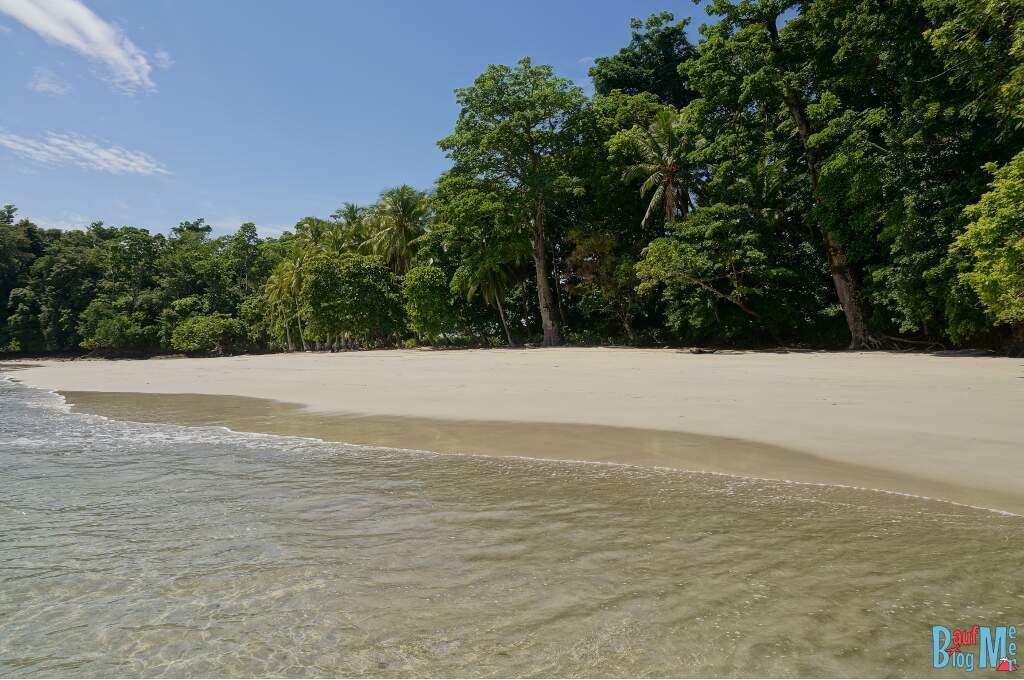 Der Strand der Isla Gamez im Golf von Chiriqui