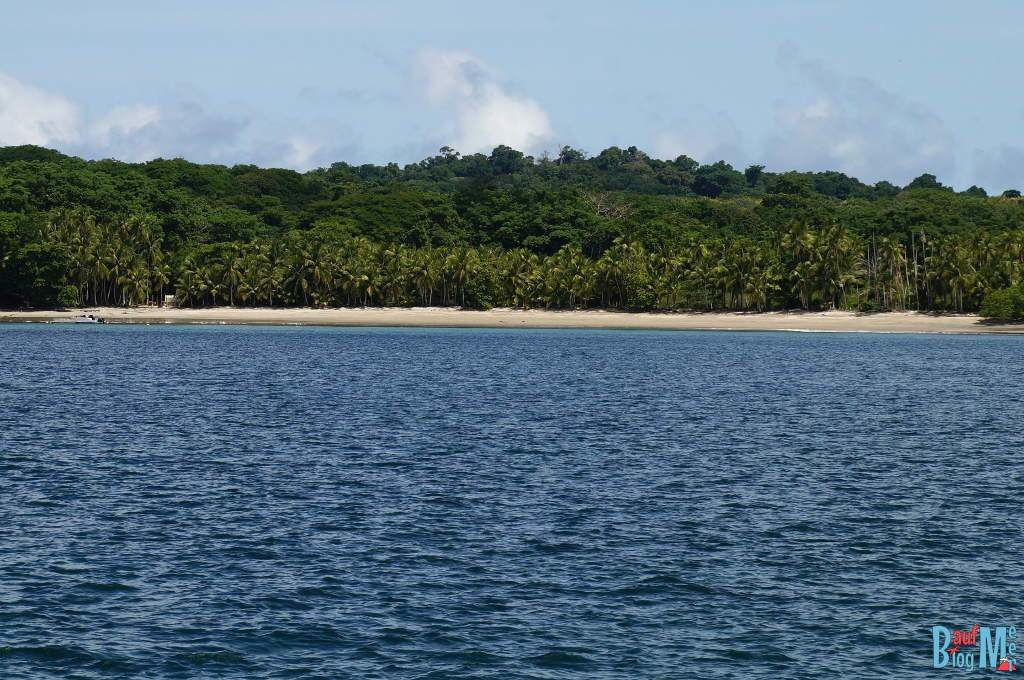 Strand im National Park Golfo Chiriqui