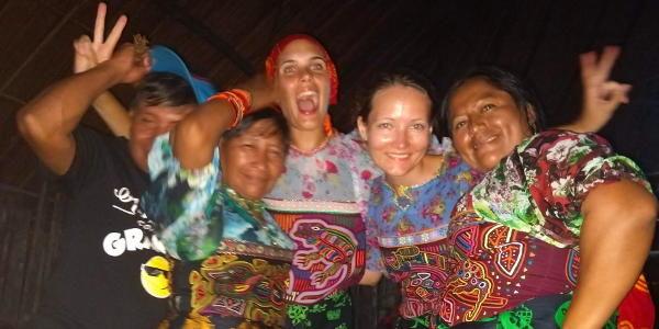 Bei einer Feier in Guna Yala