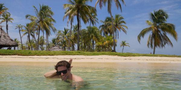 Im Meer von San Blas Panama