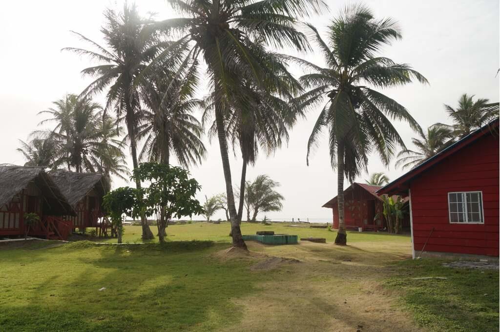 Unsere zweite Unterkunft in Guna Yala