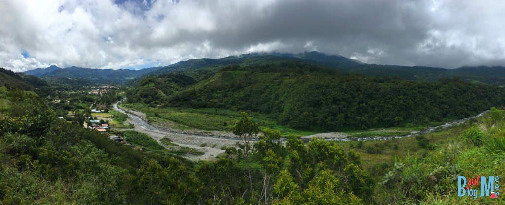 Ausblick auf den Rio Caldera und Boquete Panama