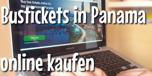 Bustickets online in Panama kaufen