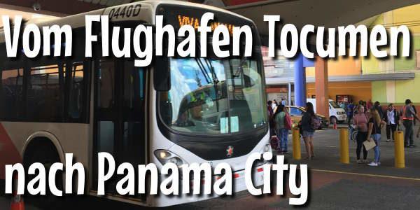 Bus vom Flughafen Tocumen nach Panama City
