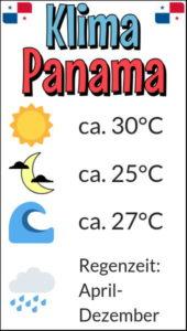 Klima in Panama: gut zu wissen für die optimale Reisezeit in Panama