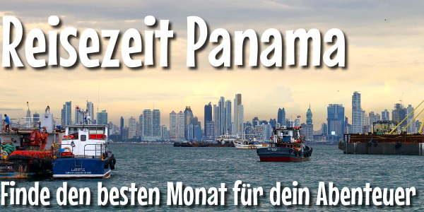 Reisezeit Panama