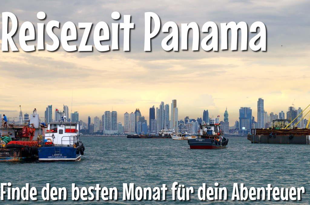 Reisezeit Panama: Panama Stadt zur Regenzeit
