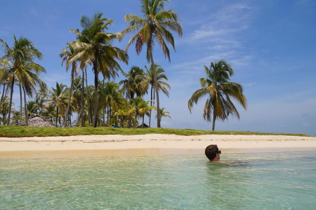 Eine der San Blas Inseln