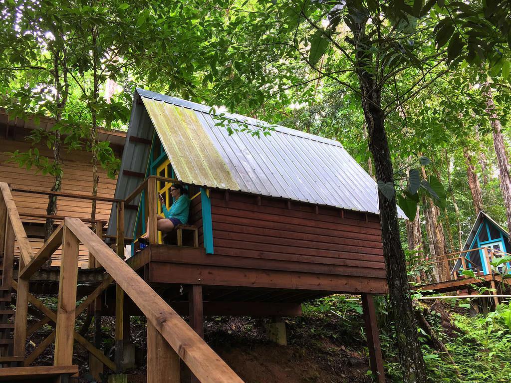 Nomad Tree Lodge ein Backpacker Hostel in Bocas del Toro Panama