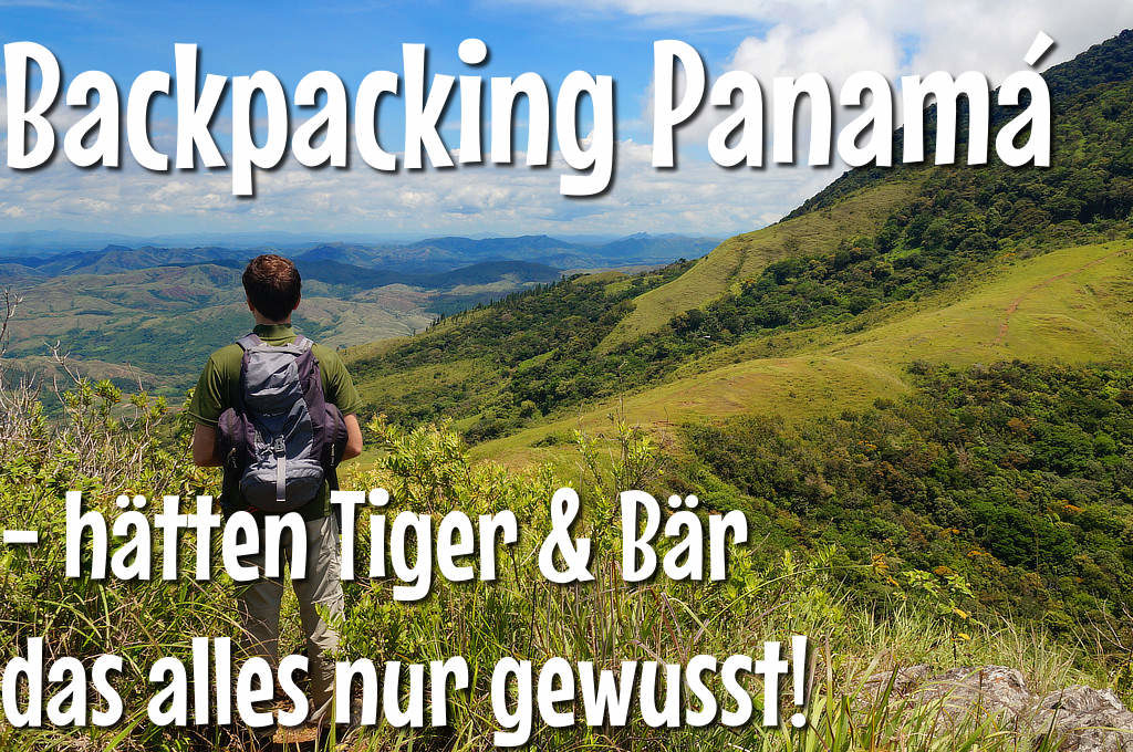 Backpacking Panama