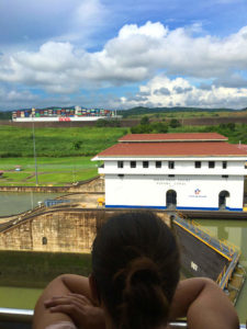 Backpacking: Panama Miraflores Schleusen am Panamakanal