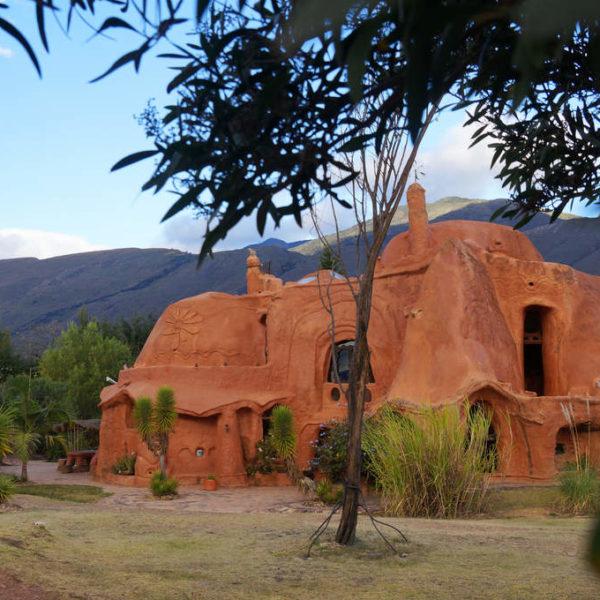 Casa Teracotta von Außen