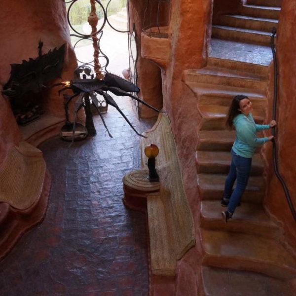 Casa Terracotta von Innen