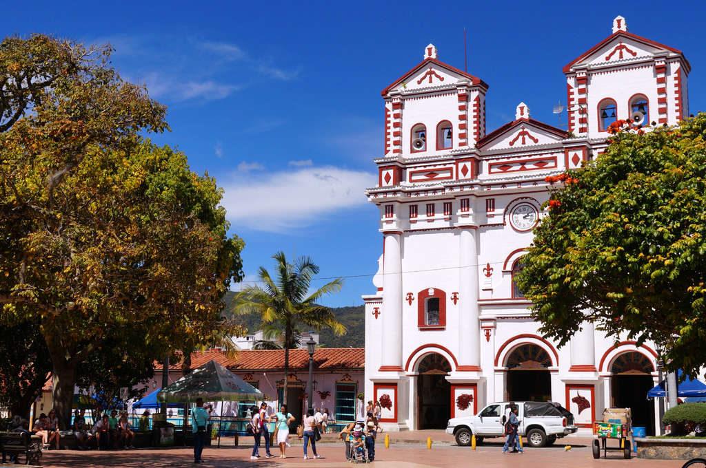 Kirche in Guatapé