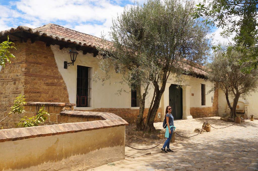 Ein Haus in Villa de Leyva