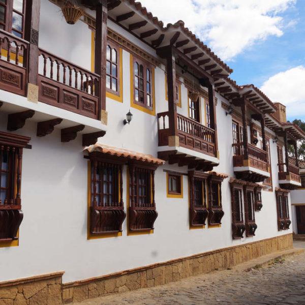 Elegante Häuser in Villa de Leyva