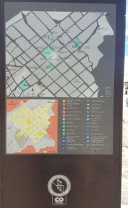 Karte mit Sehenswertem in Villa de Leyva