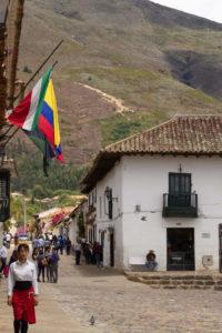 Straße im Zentrum von Villa de Leyva