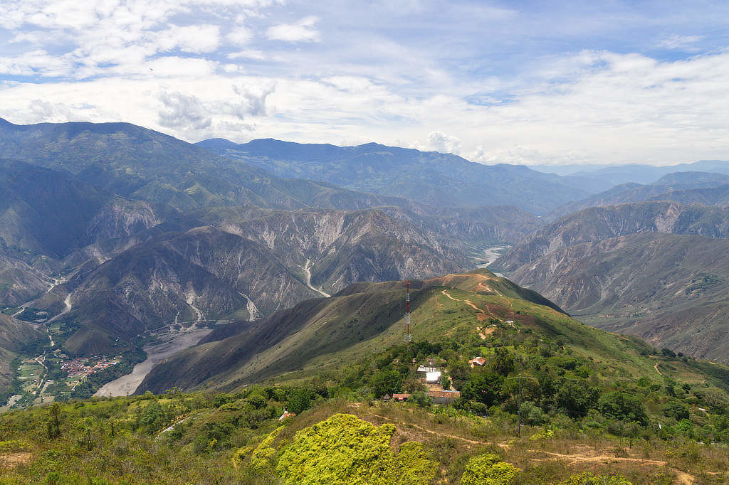 Chicamocha Canyon bei San Gil