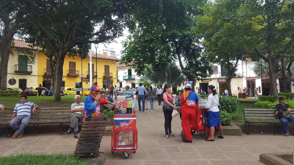 Hauptplatz in San Gil
