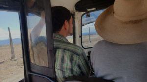 Im Moto-Taxi in der Tatacoa Wüste