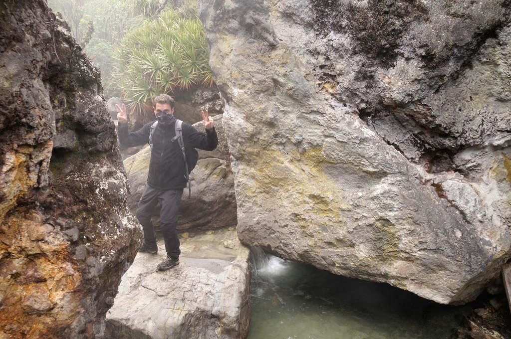 Heiße Quellen im kolumbianischen Paramo Parque Nacional Los Nevados