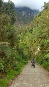 Downhill im Parque Nacional Los Nevados