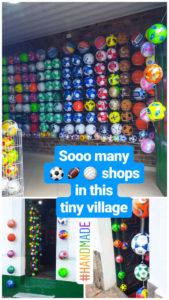 Fussball Geschäft in Mongui