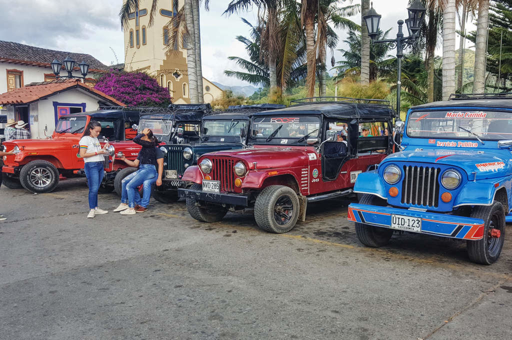 Jeep Willys in Salento