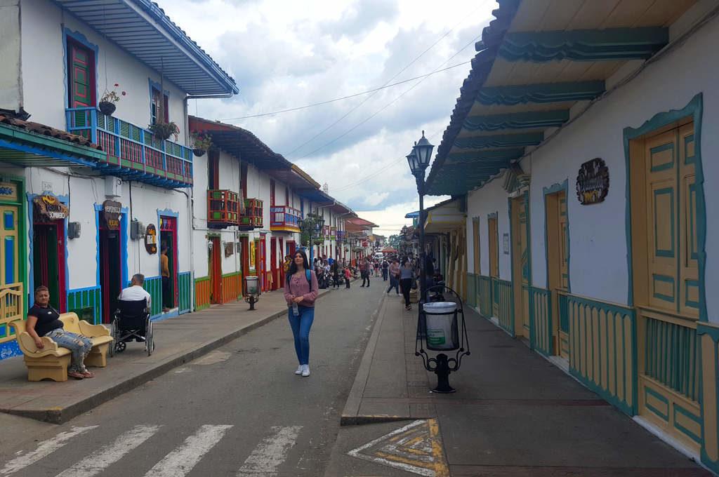 Calle Real (Carrera 6) in Salento