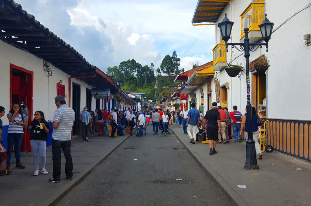 Calle Real im kolumbianischen Salento