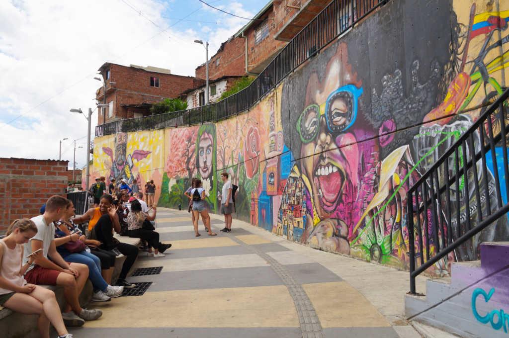 Comuna 13 heute