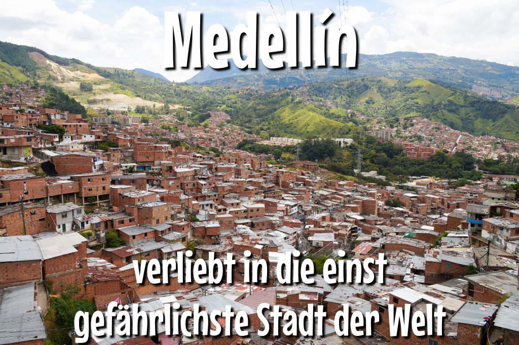 Aussicht auf die Communa 13 in Medellín
