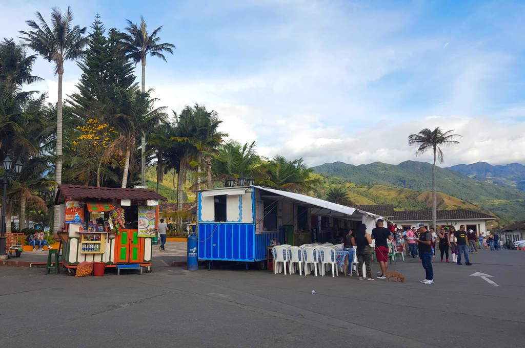 Marktplatz im kolumbianischen Salento