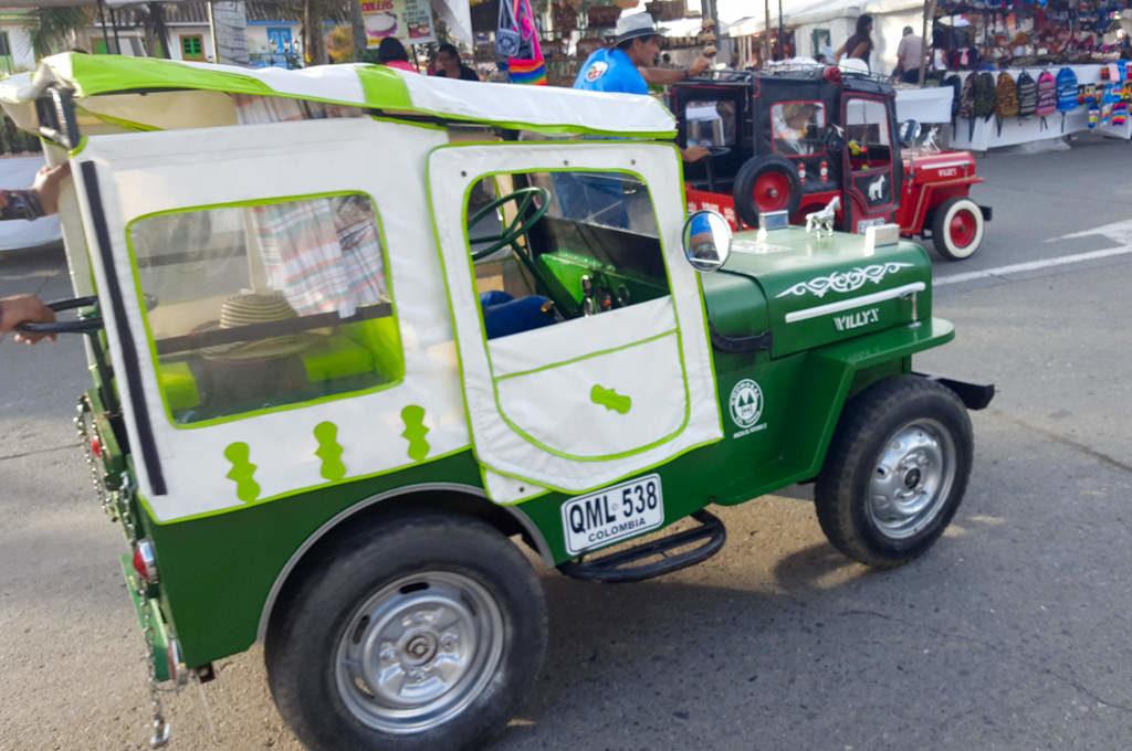 Jeep Willys im Mini-Format