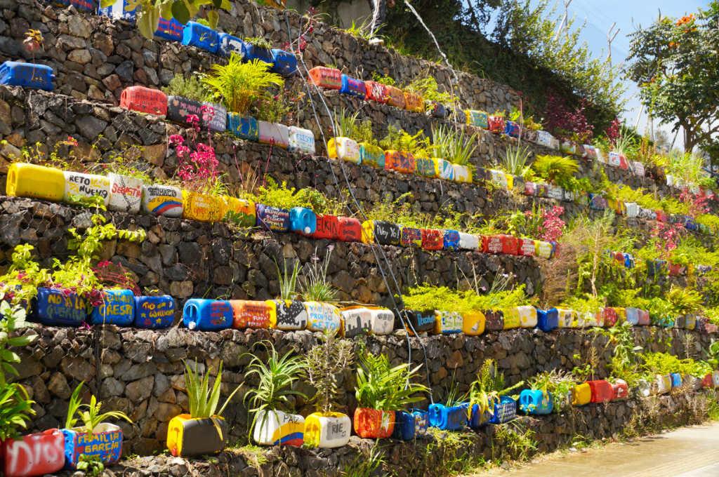 Erinnerung an all die Verschollenen in Medellín