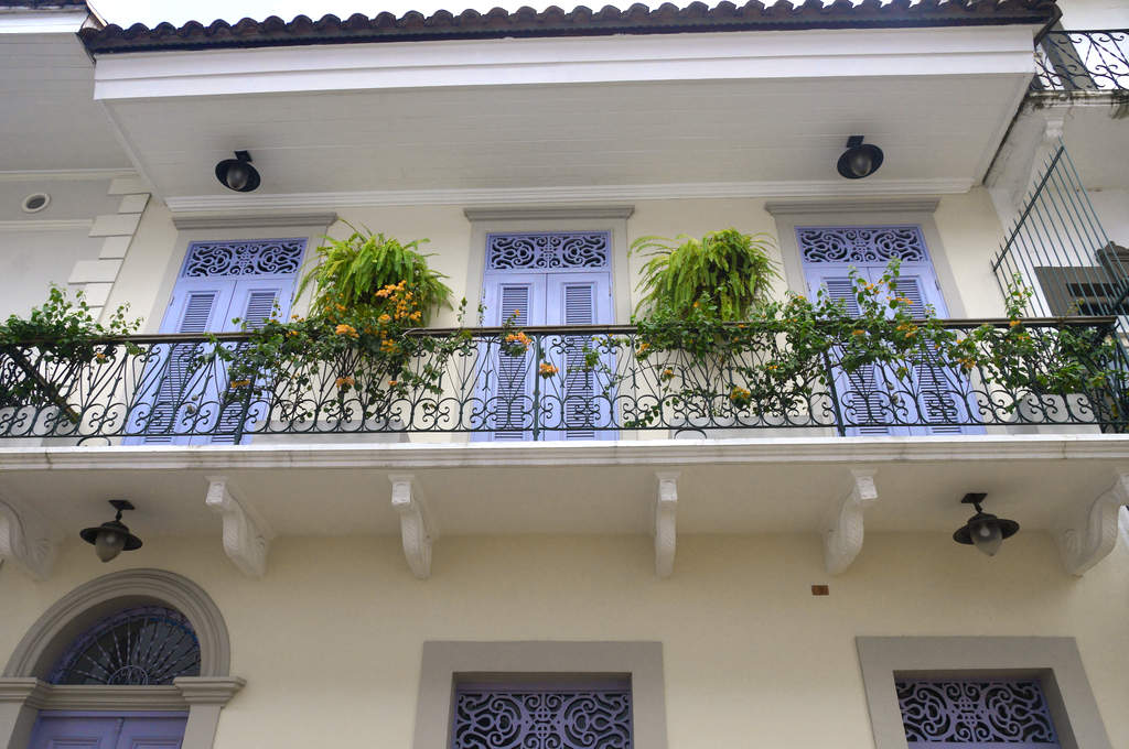 Restauriertes Haus in Casco Antiguo