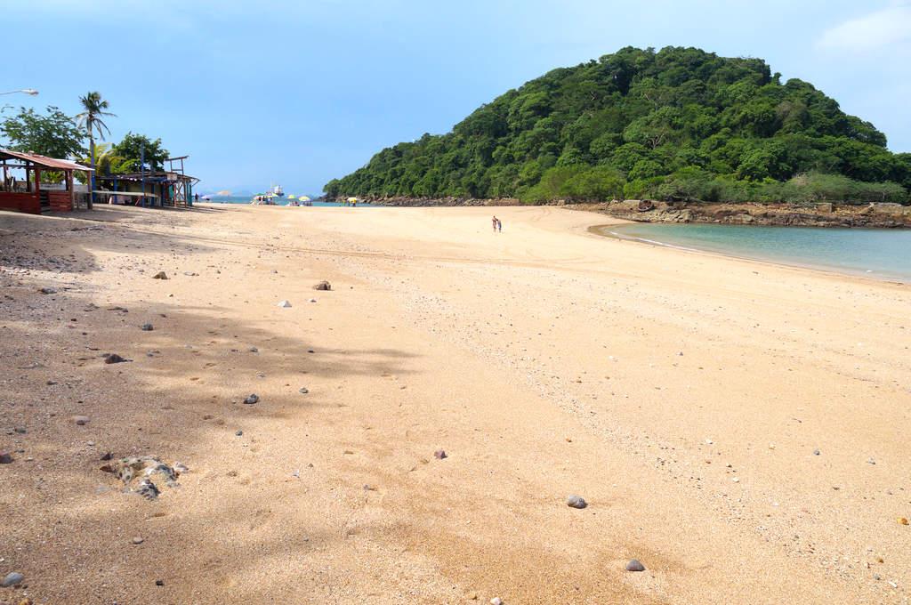 Strand auf der Isla Taboga