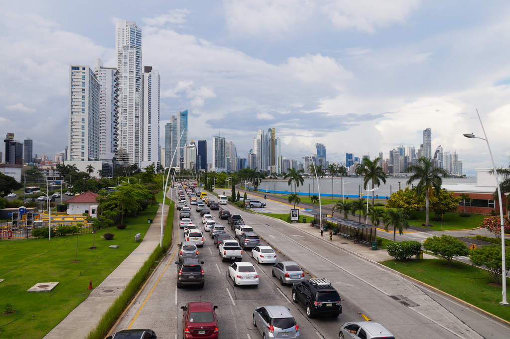 Avenida Balboa in Panama City