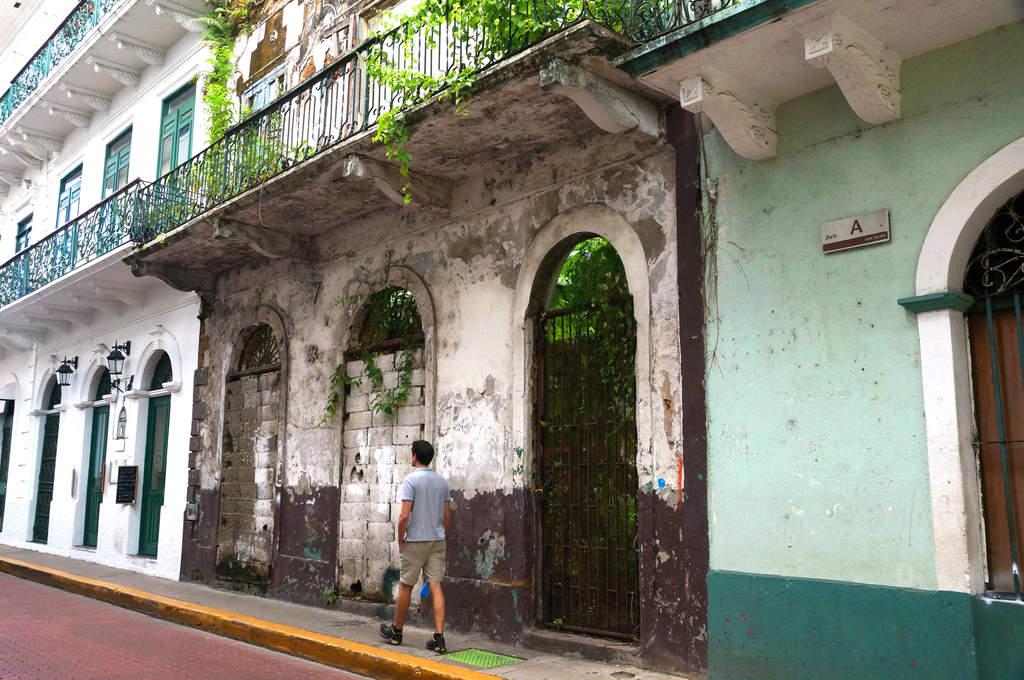 Ruinen in der Altstadt von Panama Stadt