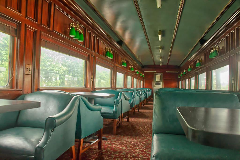 Panama Canal railway coach